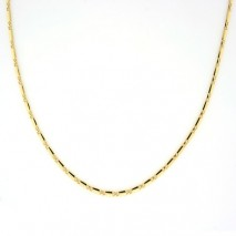 Eleganse collier 2,4mm, gult gull