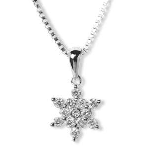 Anheng Star hvitt gull  0,30 tw/si