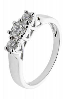 Diamantring Forever 0,50 tw/si diamanter.